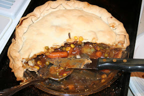 A St Patrick's Day Recipe Tundra Swan Pot Pie